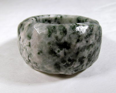 Appealing Genuine Natural Tree Agate Solid Ring Size 8.0       AGAR382