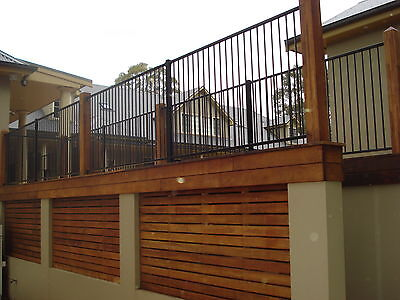 AS Cerified Aluminium Black Flat Top Pool Fence /Fencing, Garden fencing