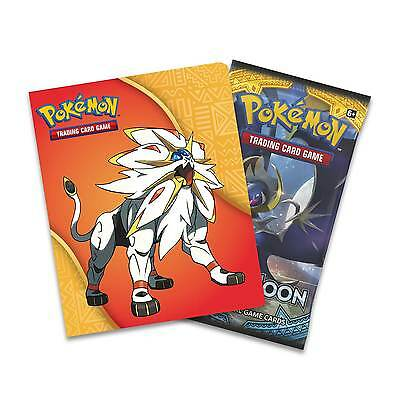 NEW! Pokemon TCG Sun and Moon Collector's Mini Album + Booster Collectable Cards