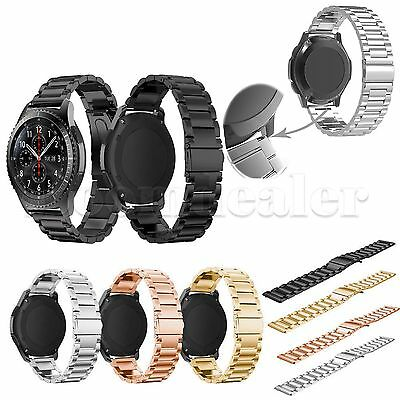 Stainless Steel Watch Band Bracelet Strap for Samsung Gear S3 Frontier / Classic
