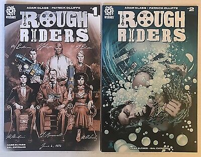 Rough Riders #1 & 2 Aftershock 2016 Lot of 2