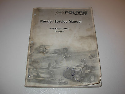 Polaris Ranger Factory Service Manual , Issued 1998 , p/n 9914985