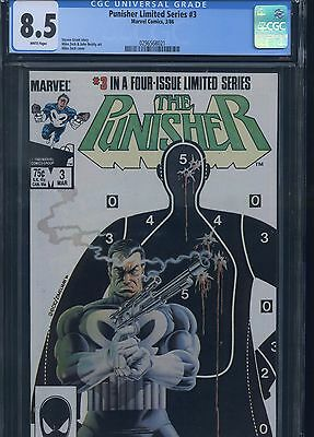 Punisher Limited Series #3 CGC 8.5