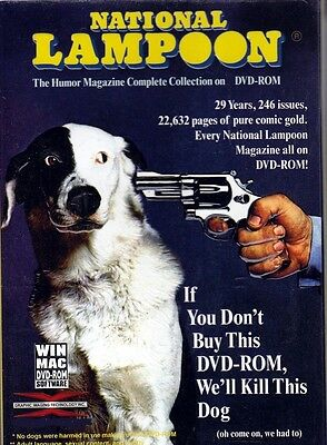 Ultimate National lampoon Digital magazine Full Collection in PDF on 2 x dvd Rom