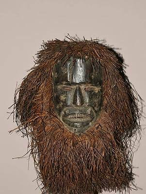 Old And Stunning African Ituri Pygmee Mask From Congo