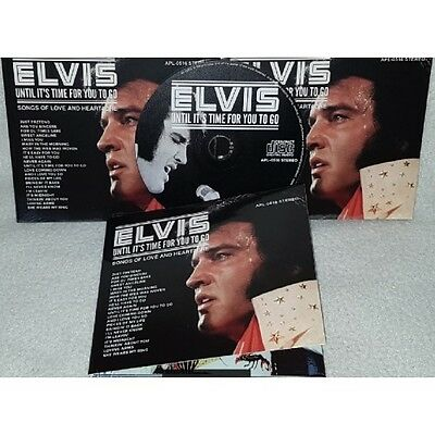 ELVIS PRESLEY - UNTIL IT'S TIME FOR YOU TO GO  - Digipack RARE NEW CD