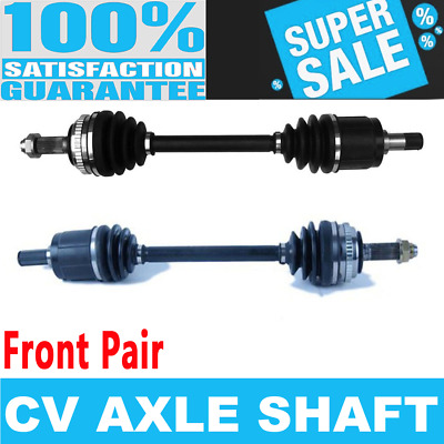 2 - 1997 CL 2.2L w//Automatic Transmission /& ABS RING 50 1998-1999 Acura CL 2.3L - Detroit Axle Front CV Axle Shafts for 1994-1997 Honda Accord 4 Cyl Pair