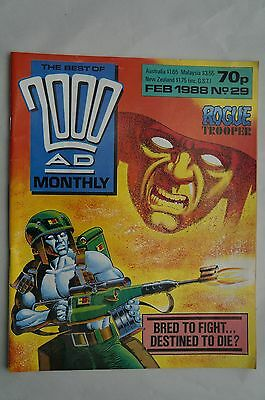 The Best of 2000AD Comic - Judge Dredd - 1988 - Prog 29 - 28 Years Old