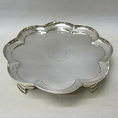 Queen Anne Irish Silver Octofoil Salver by THOMAS BOLTON C1710 Stock ID 8760
