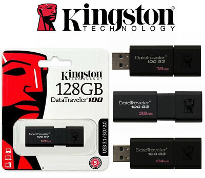 USB Flash Drive SanDisk 8GB 16GB 32GB 64GB 128GB Kingston USB 3.0 Memory Stick