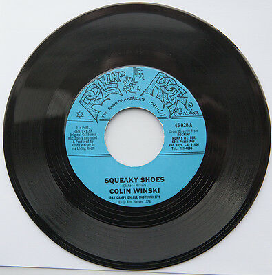 Colin Winski – Squeaky Shoes / Red Hot Mama / Honey Roll. 45rpm Rockabilly