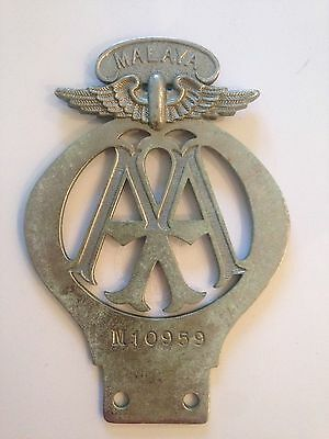 AA Automobile Association Vintage Car Badge