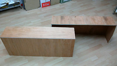 Mercedes Vito Plyline Wheel Arch Wooden Boxes