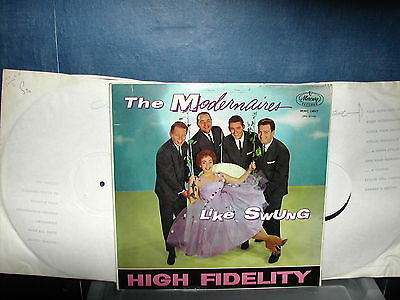 The Modernaires-Like swung LP 1960 2 x1 sided test pressing