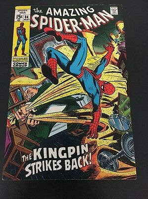 The Amazing Spider-Man 84 Marvel Comics   Early Bronze Age FN Cents Issue