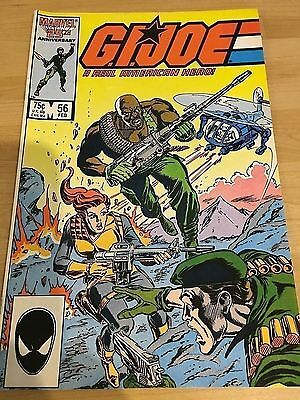 G.I.Joe A Real American Hero! # 56  Marvel Comics