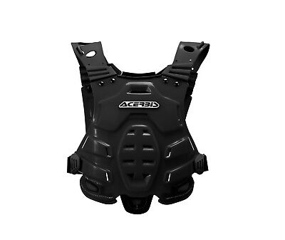 Acerbis mx profile chest protector body armour black one size