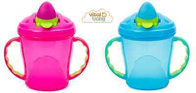 Vital Baby Soft Flip Spout Baby Sippy Cup, Baby Cup, Baby's First Cup, Weaning
