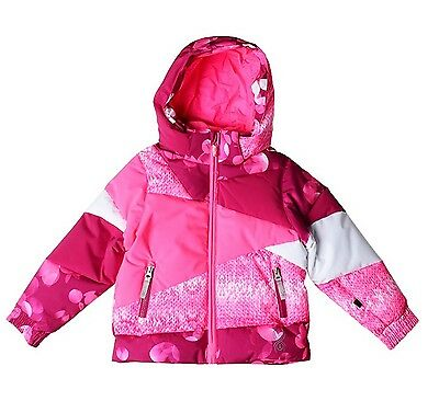 NEW NWT Spyder Bitsy Duffy Puff jacket Toddler Girl waterproof Ski Winter  4T 4