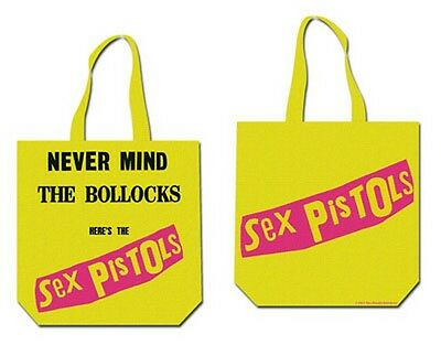 official SEX PISTOLS never mind TOTE BAG  shopping Tasche