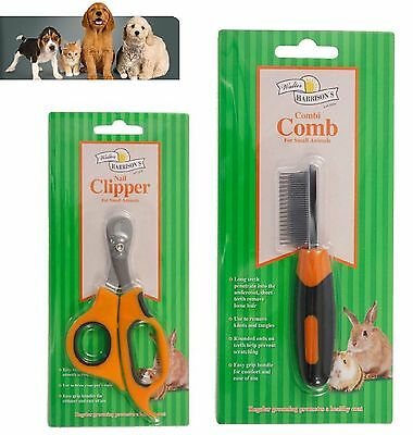 Small Animal Grooming Brush, Clippers, Comb Walter Harrisons - Fast Delivery