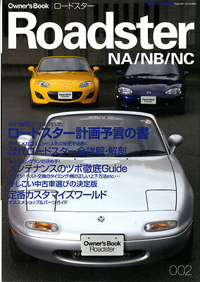MAZDA EUNOS ROADSTER NA / NB / NC Owner's Book MX-5 Maintenance Free Shipping