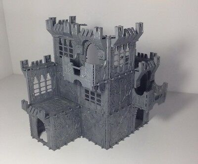 BIG IRON CASTLE for 28-54mm (hard plastic) 11 Sprues
