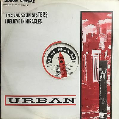 """The Jackson Sisters 12"""" 'i Believe In Miracles'  (Urban)"""