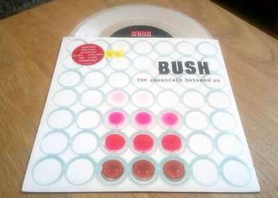 "Bush The Chemicals Between Us 7"" Vinyl Single Excellent Condition Rare Record"