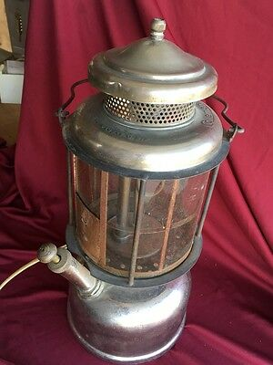 Antique Coleman L427 Quick Lite Lantern with Mica Shade plus a Nice Extra
