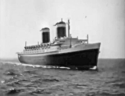 """SS UNITED STATES DVD """"At Your Service"""" United States Lines, VERY RARE."""