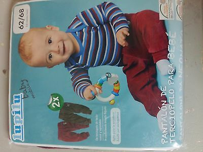 Lupilu Baby Trousers x 2 - (2 - 6 Months) 62/68 - Very good quality