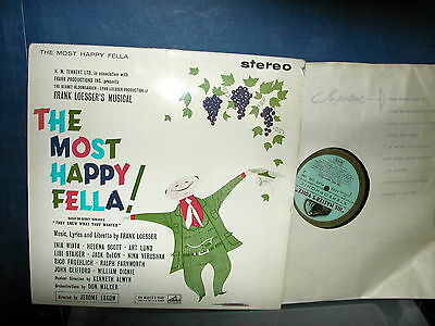 The most happy fella musical soundtrack LP 1960 Stereo