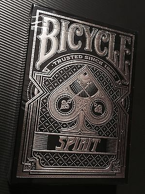 Bicycle Spirit RARE (only 2500) Printed blue Playing Cards.