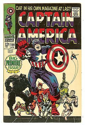 Captain America 100 (#1) Premiere Issue