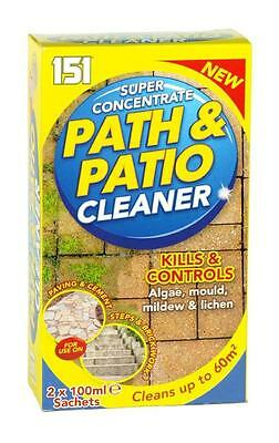 SUPER CONCENTRATE PATH & PATIO CLEANER 2 X 100ml SACHETS