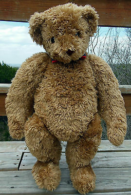 """Rare Vintage 1994 Deluxe Jointed Vermont Teddy Bear 35"""" Tall ! Free Shipping !"""
