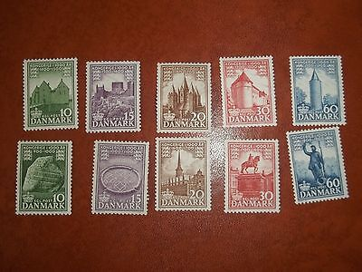 1953 Sets Of Mint Stamps From Denmark