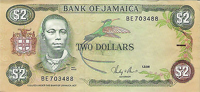 Jamaica  Two Dollars.