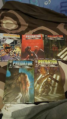 Predator race war #0-4 complete set 5 comics very rare dark horse 1993