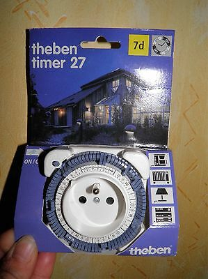 prise theben timer 27 programmable a 7 jours