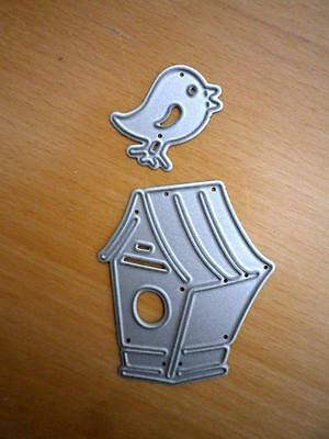 NEW Die Cutter for roller machines BIRDS & HOUSE / card making / scrapbooking