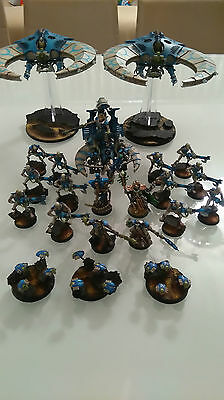 Necron Army, Beautifully Painted