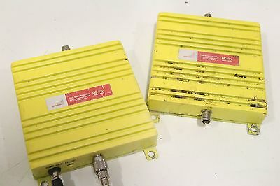 Lot of (2) Cyfre Motorola CA-819 Dual Band Amplifier Direct Connect