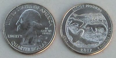 USA Quarter America the Beautiful - Effigy Mounds P 2017 unz.