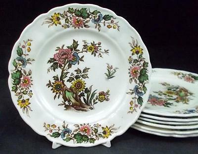 Grindley LORRAINE 7 Bread & Butter Plates GREAT CONDITION