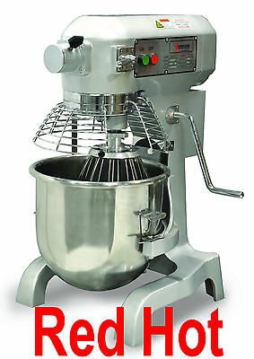 Omcan  20441 1.5 Hp 20 Qt Commercial Planetary Dough Food Mixer Gear Driven