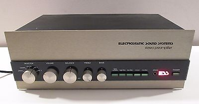 Ess Preamplifier Preamp Works Perfect Fully Serviced