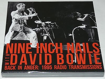 Nine Inch Nails With David Bowie Back In Anger LP Live LTD 4 LP Vinyl Boxset NEW