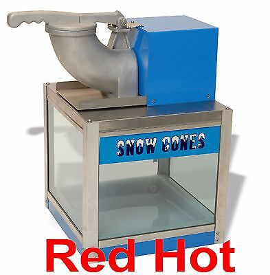 New Benchmark Snow Bank Snow Cone Machine snowcone Maker 71000